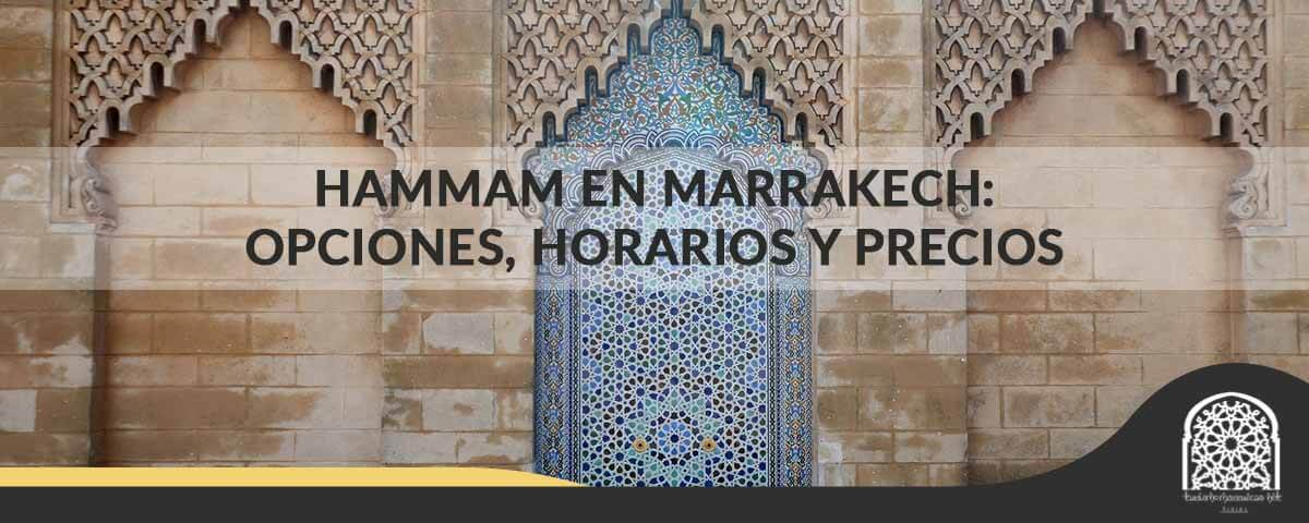 hammam en Marrakech
