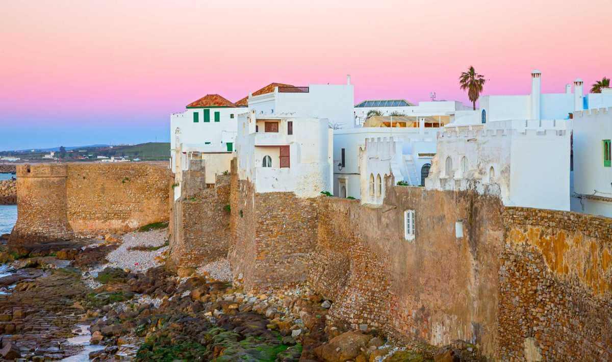 Asilah antigua ciudad portuguesa