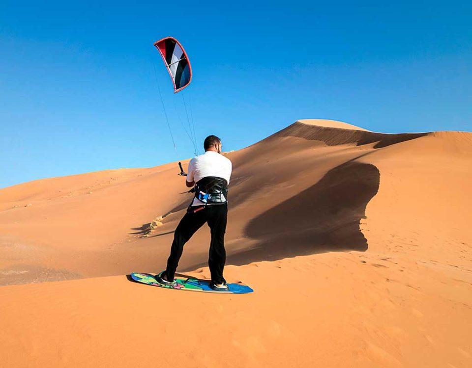 Deportes en el desierto de Marruecos