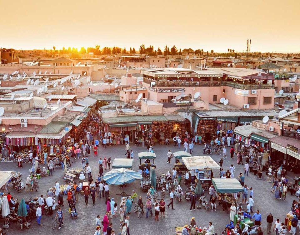 Plaza Jemaa el fna Marrakech