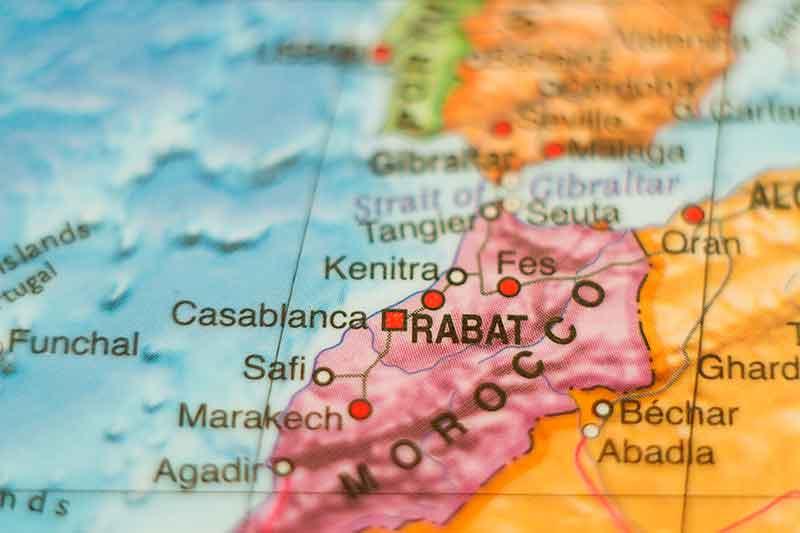 Como llegar a Marruecos