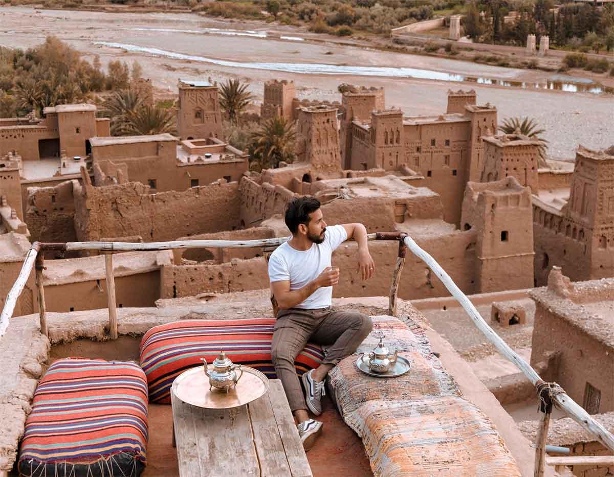 Desierto cerca de Marrakech