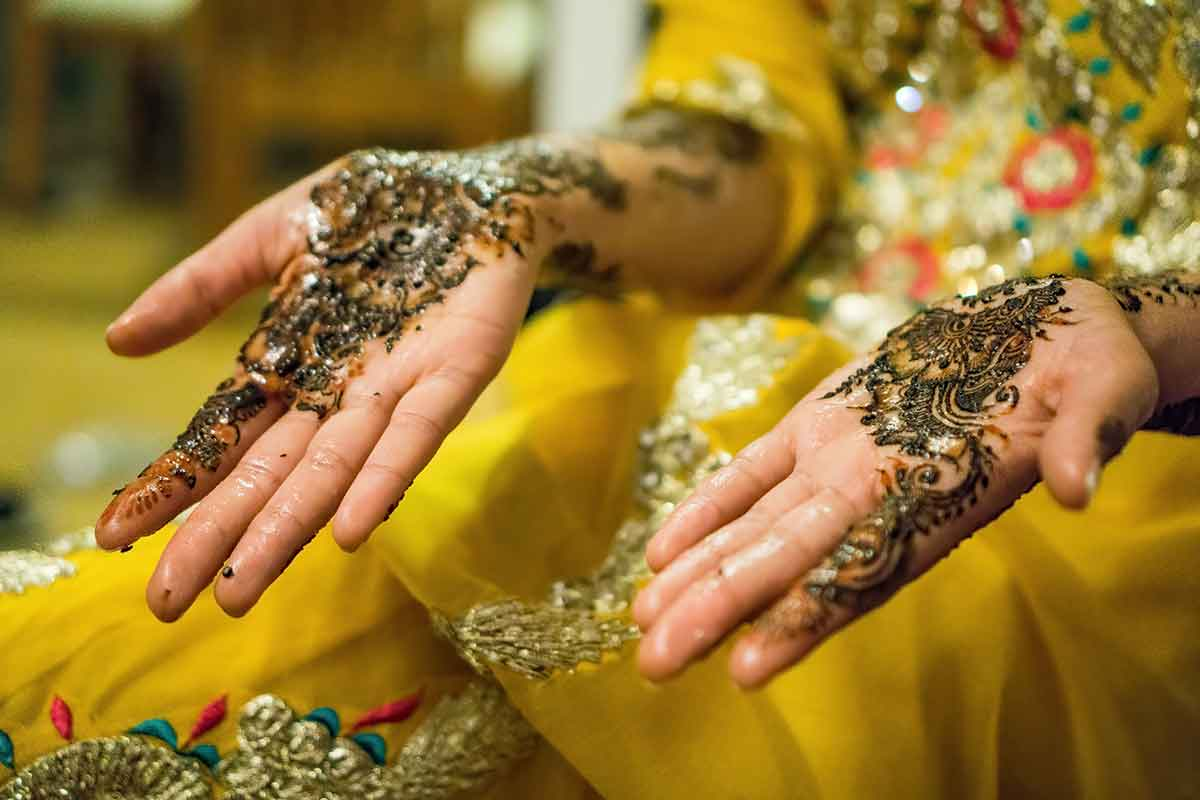 Tatuaje de Henna Marruecos