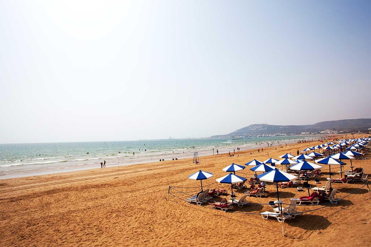 Playa Atlantico Marruecos