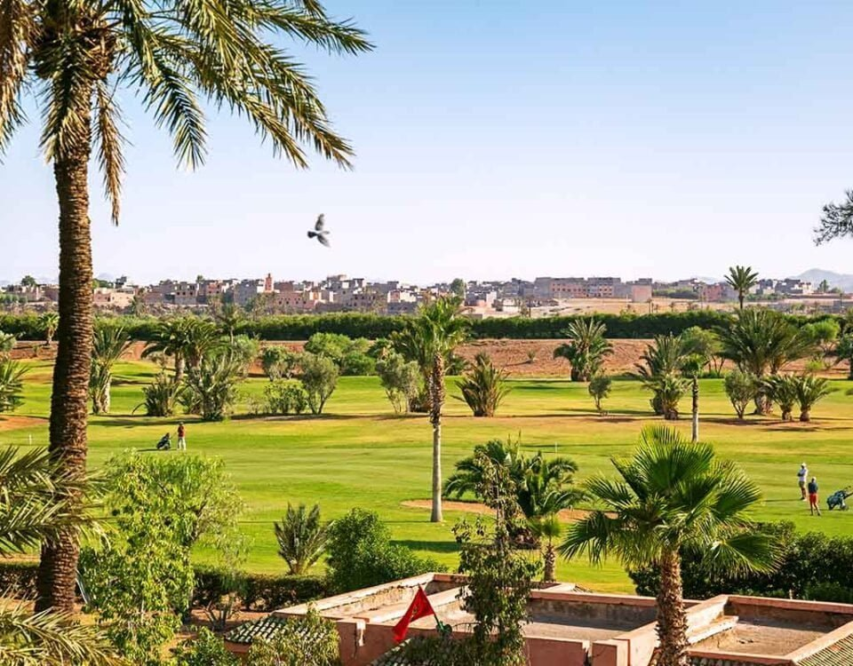 Campos de Golf en Marruecos