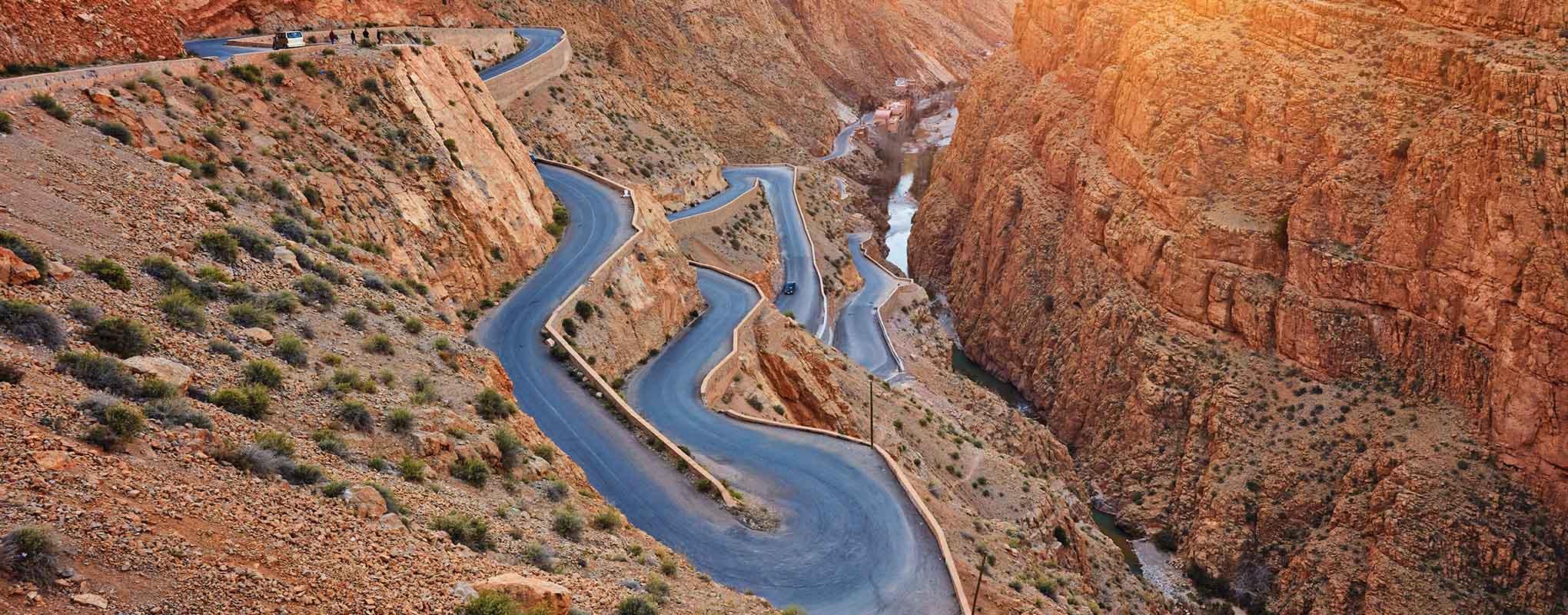 Gargantas del Dades Marruecos
