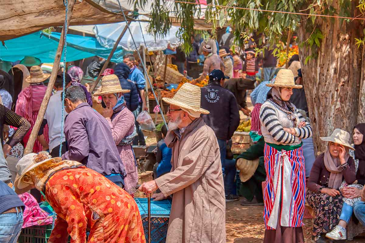 Mercado Local Oued Laou