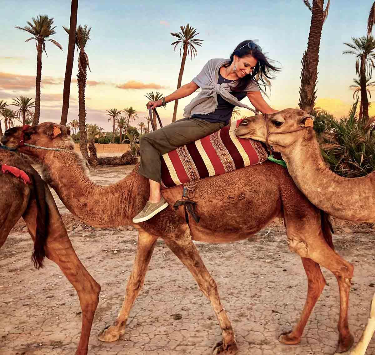 Montar en camello en Marrakech