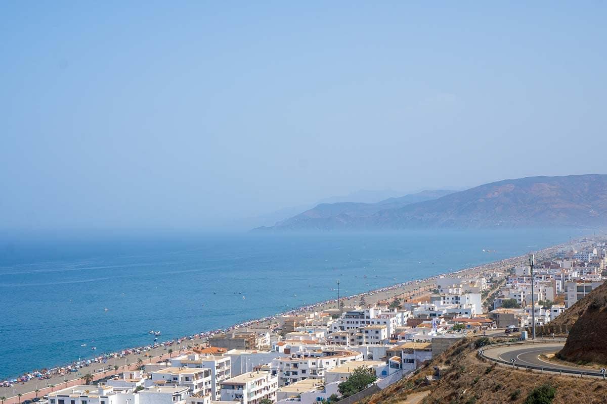 Oued Laou al norte de Marruecos