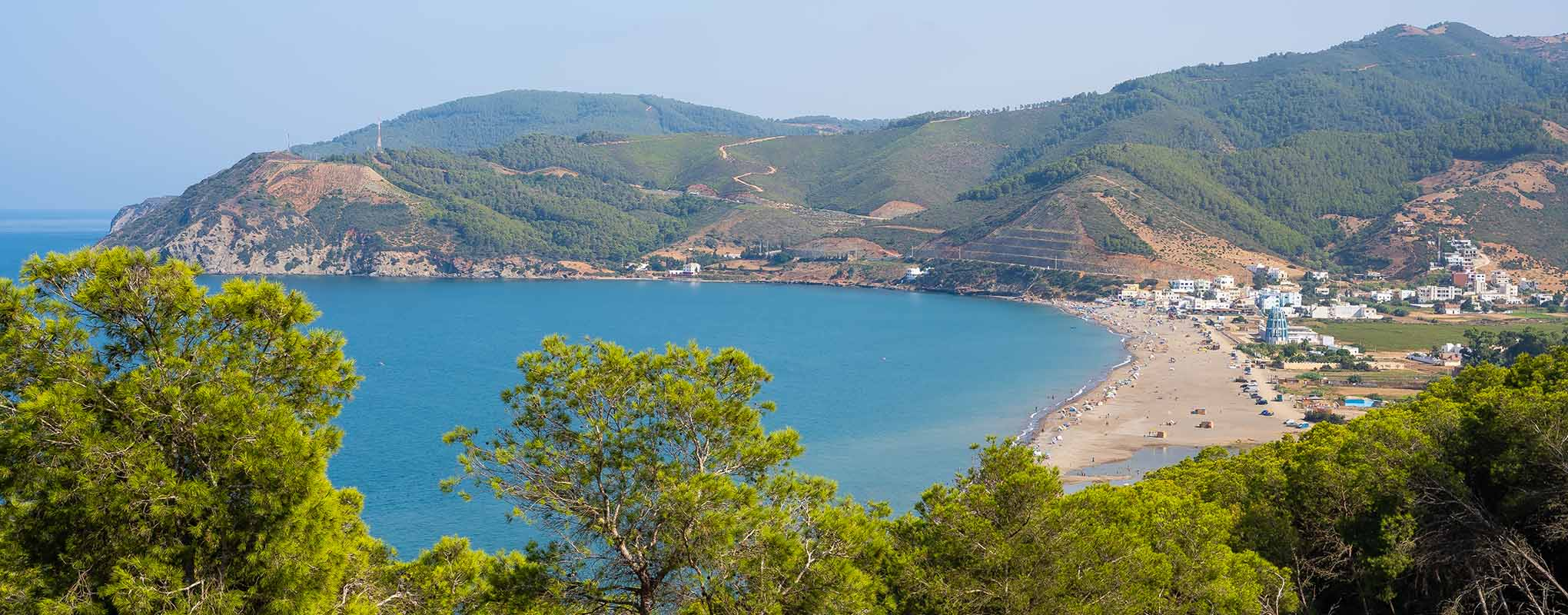 Vista panorámica de Oued Laou
