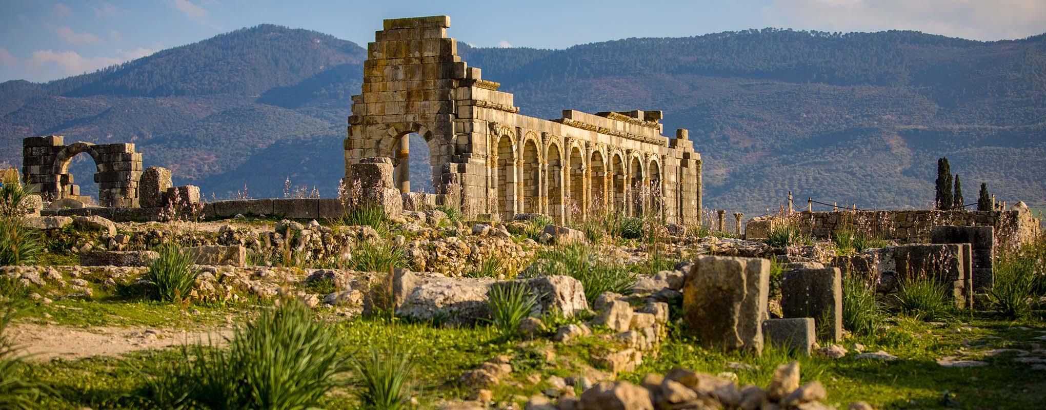 Volubilis ruinas arqueológicas