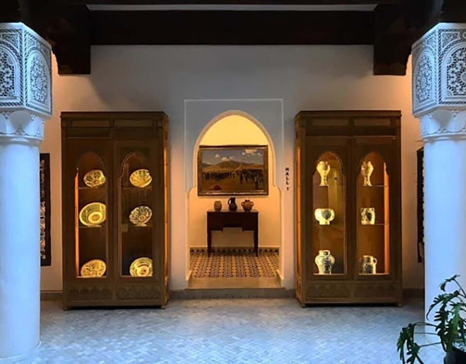 Orientalist Museum de Marrakech interior