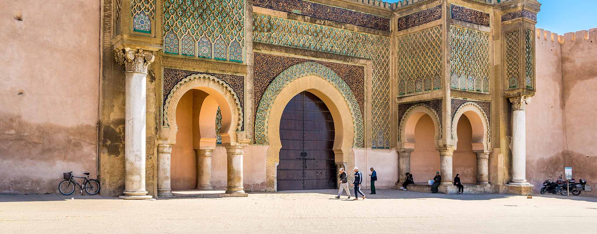 Meknes ciudad imperial de Marruecos