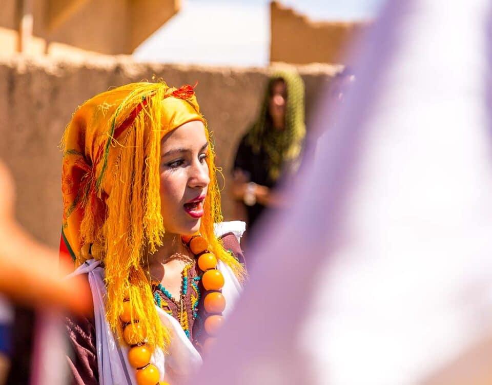 Espectaculo boda bereber Marruecos