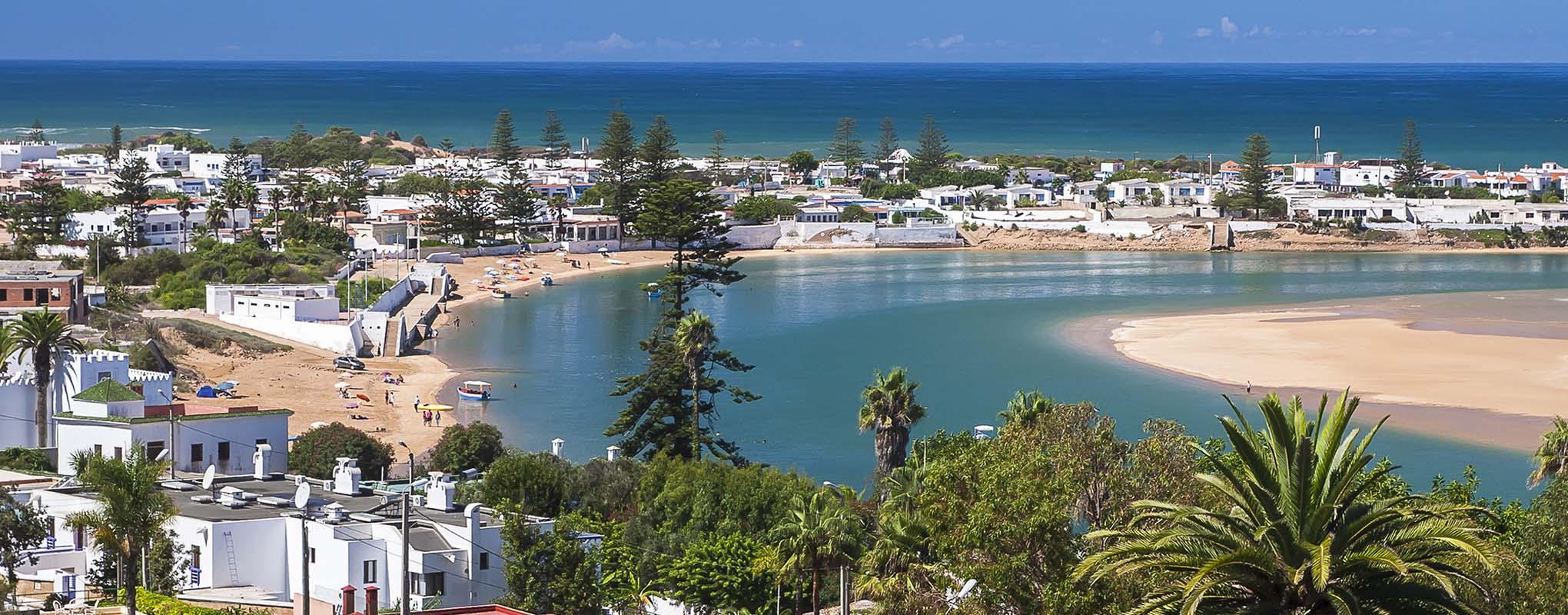 Oualidia costa atlantica de Marruecos