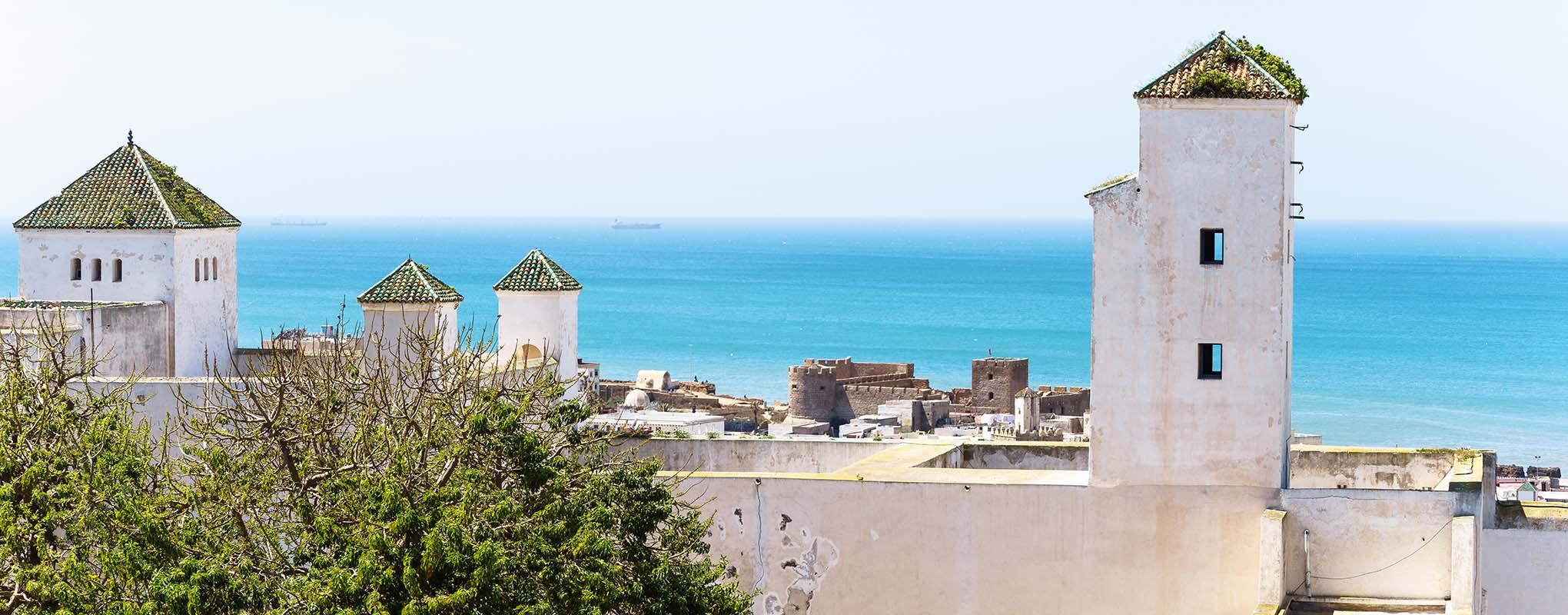 Vistas de la ciudad de Safi Marruecos