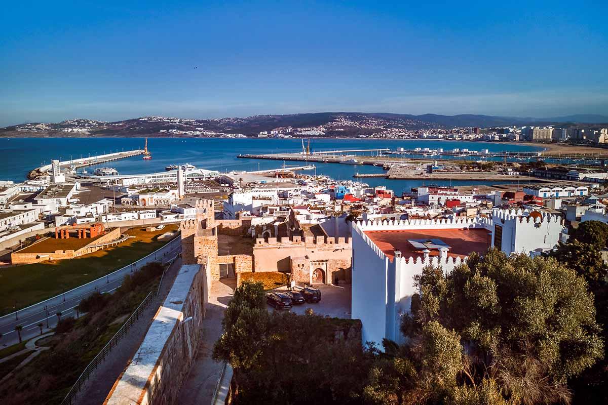 Vistas de la ciudad de Tánger