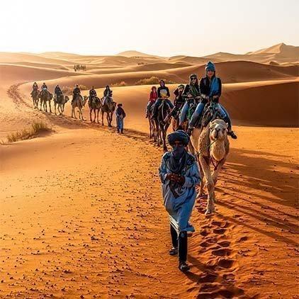 Circuitos grupales compartidos a Marruecos