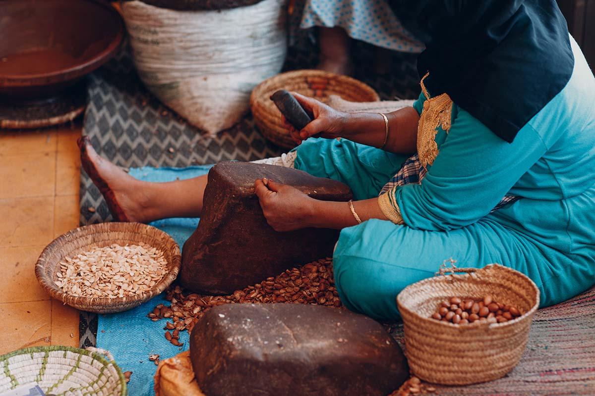 Cooperativa aceite de Argan en Marruecos