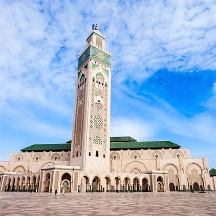 Destino Costa Atlantica de Marruecos
