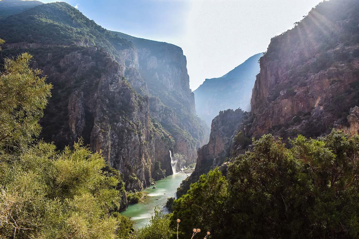 Cordillera del Rif en Marruecos
