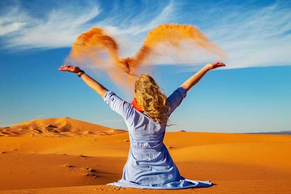 Viaje temático al desierto de Marruecos