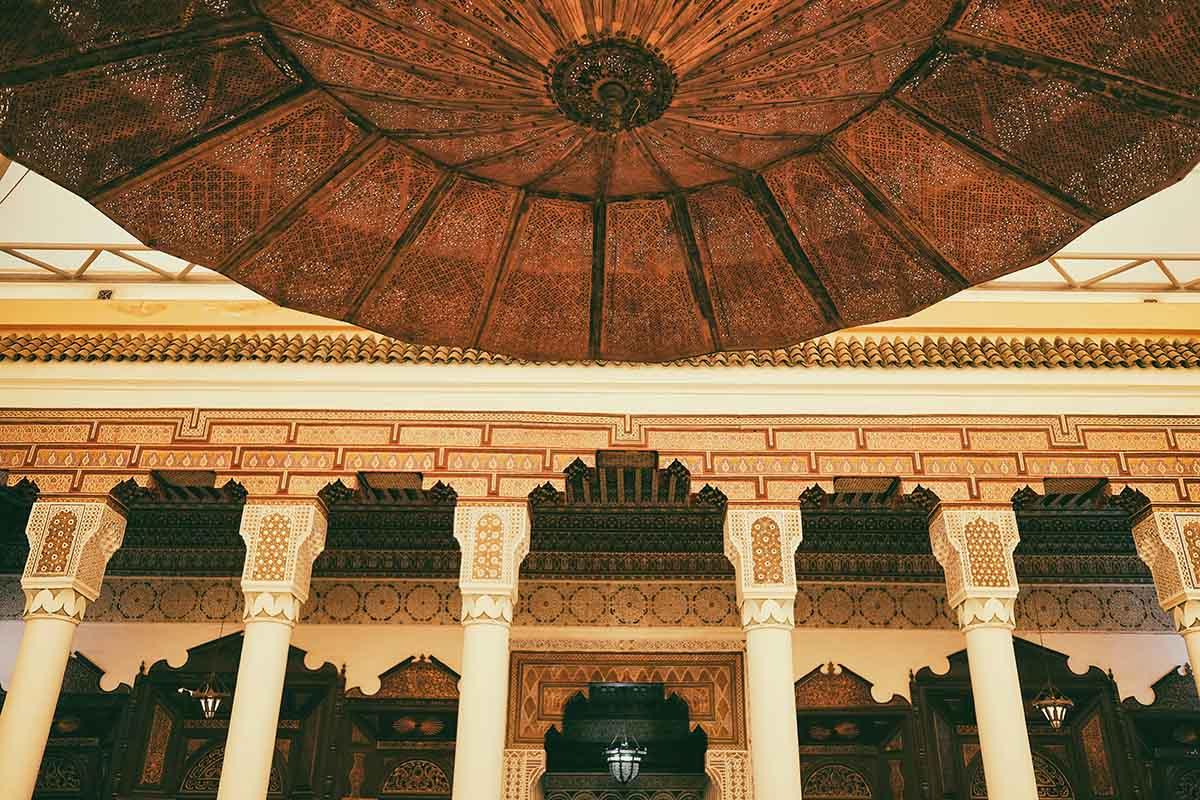 Interior de Museo en Marruecos