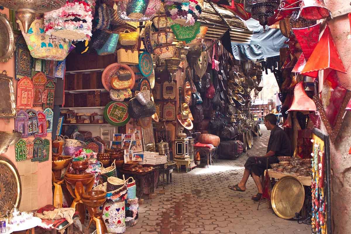 Mercados y zocos de Marruecos