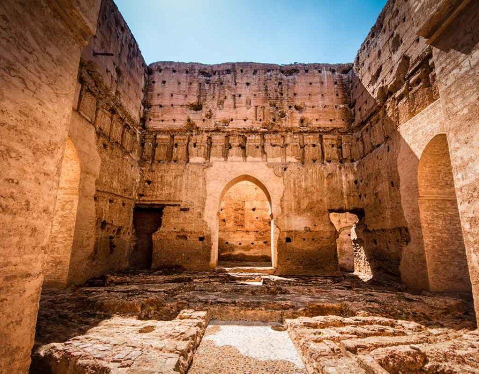 El Palacio el Badi en Marrakech