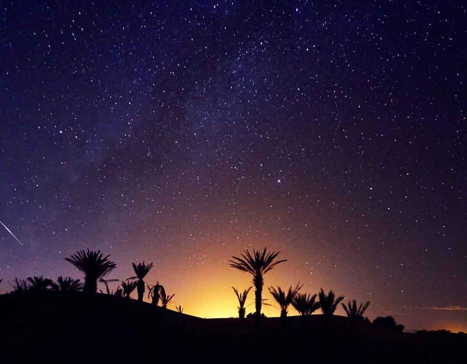 Noche estrellas marruecos