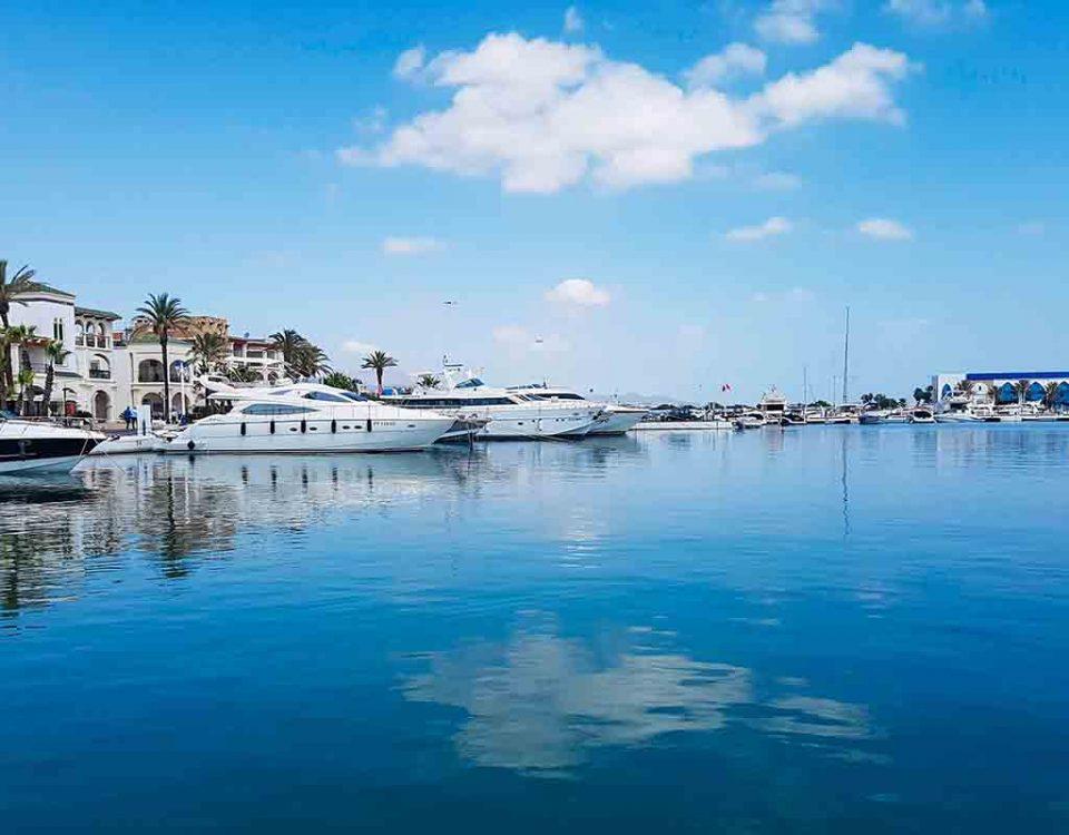 Puertos deportivos Marruecos